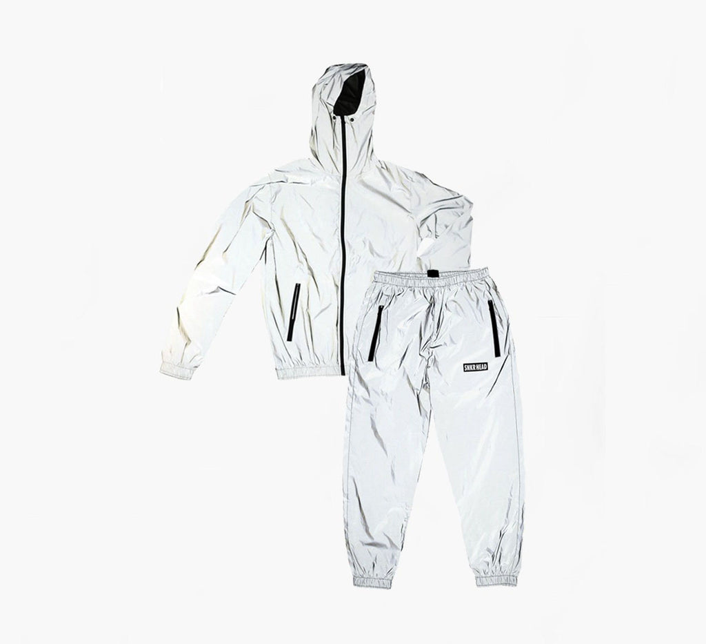 SNKR HEAD Reflective Jacket & Pants Set