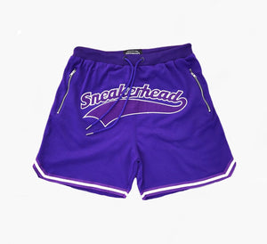 Cut & Sew Sneakerhead Shorts (purple)