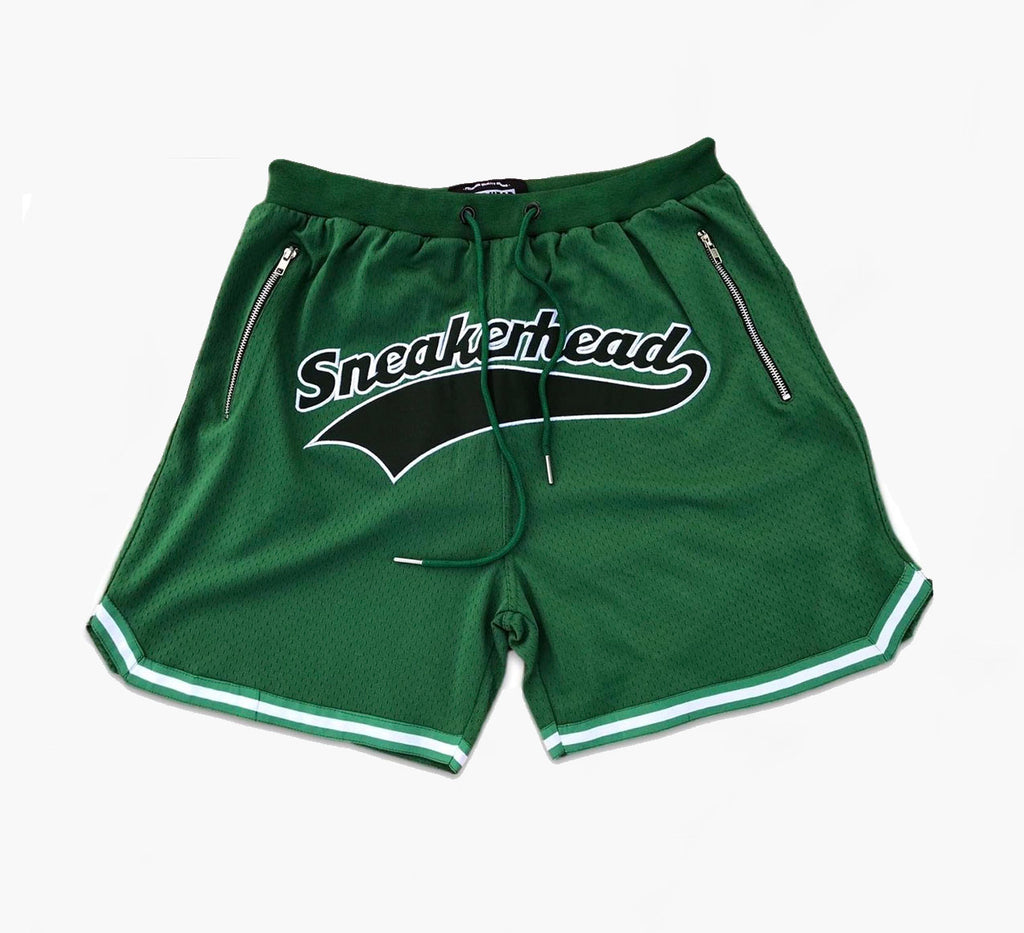 Cut & Sew Sneakerhead Shorts (Green)