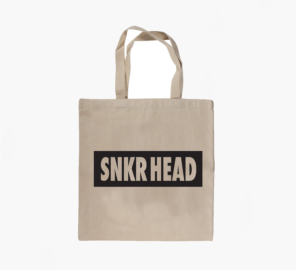 SNKR HEAD Tote Bag