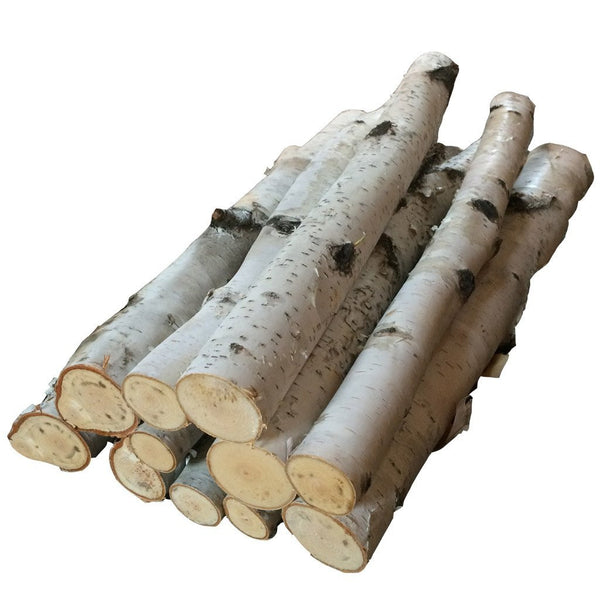 Birch Bundle of Logs - Northern Boughs