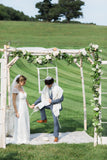White Birch Chuppah - Northern Boughs