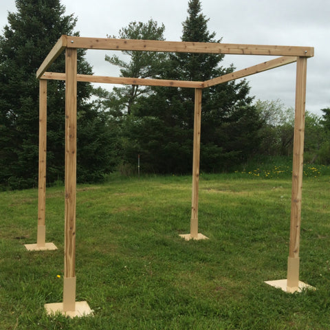 White Cedar Chuppah Set - Northern Boughs