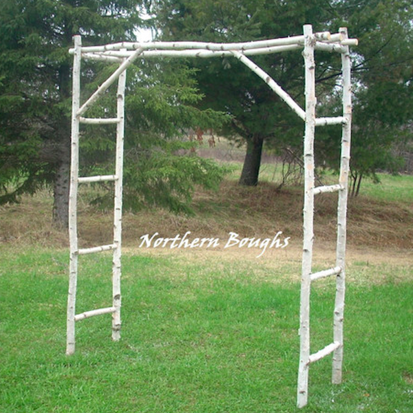 Large Birch Wedding Arch/Arbor Kit - Northern Boughs