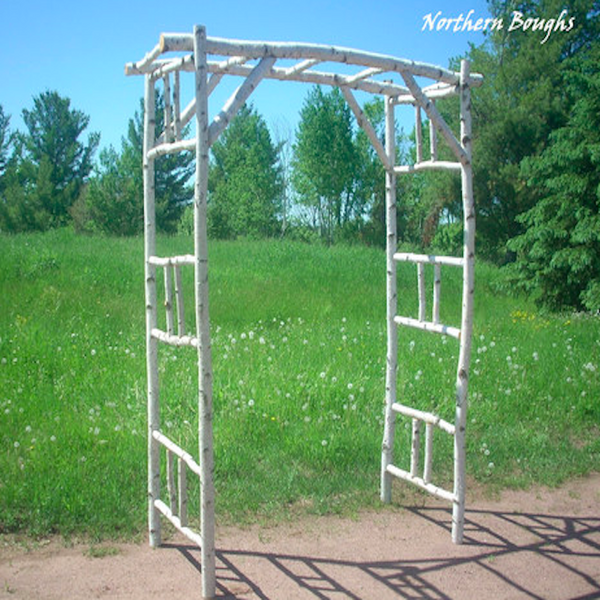 Deluxe Birch Wedding Arch/Arbor Kit - Northern Boughs