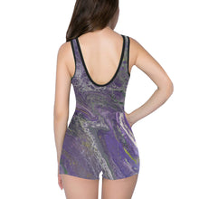 Load image into Gallery viewer, The Violet Storm Classic One Piece Swimwear (Model S03)