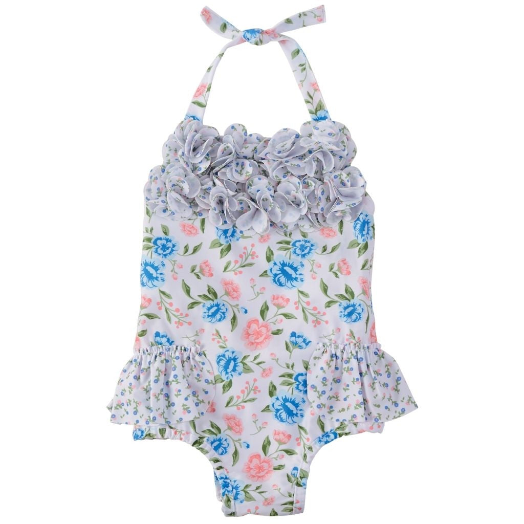 Mud Pie - Ruffle Floral Swimsuit