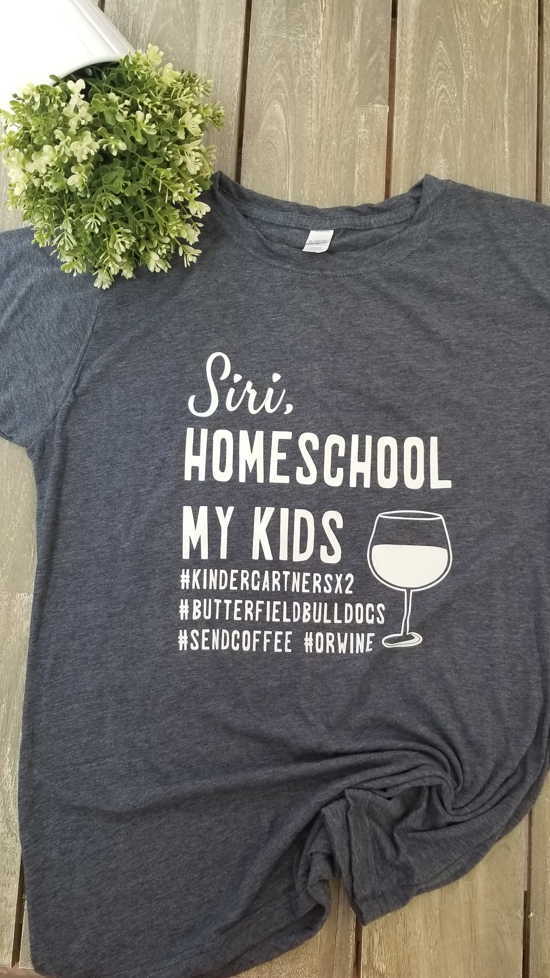 Siri Homeschool My Kids Tee