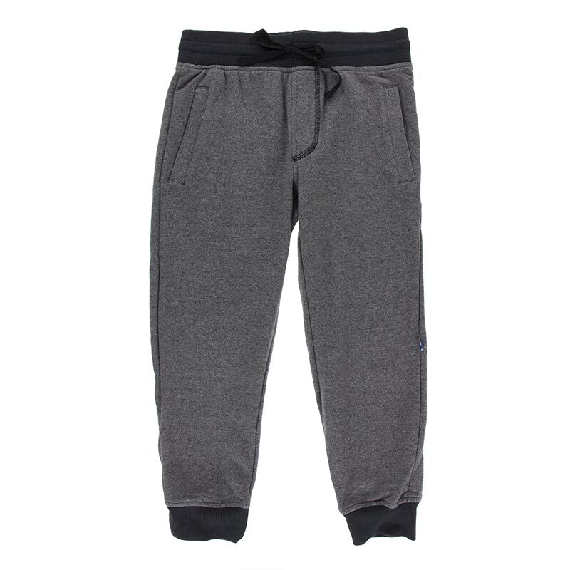 Kickee Pants - Botany Collection - Tailored Fit Fleece Tapered Sweatpants - Heathered Zebra - FINAL SALE