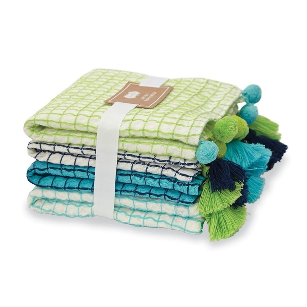 Mud Pie Lime Dish Towel Set