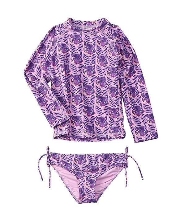 Egg By Susan Lazar - Kaitlyn Two Piece Swimsuit - Purple Tigers