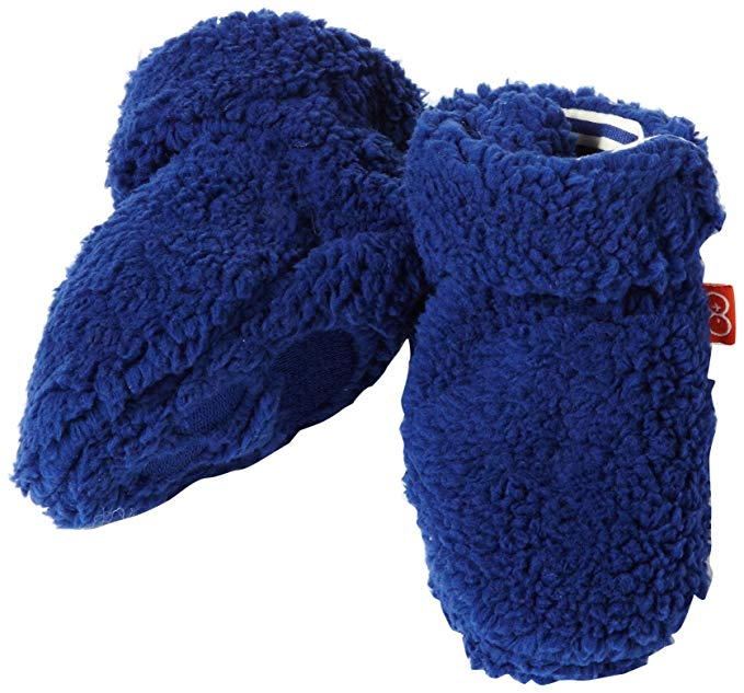 Magnificent Baby Fleece Smart Booties - Blueberry