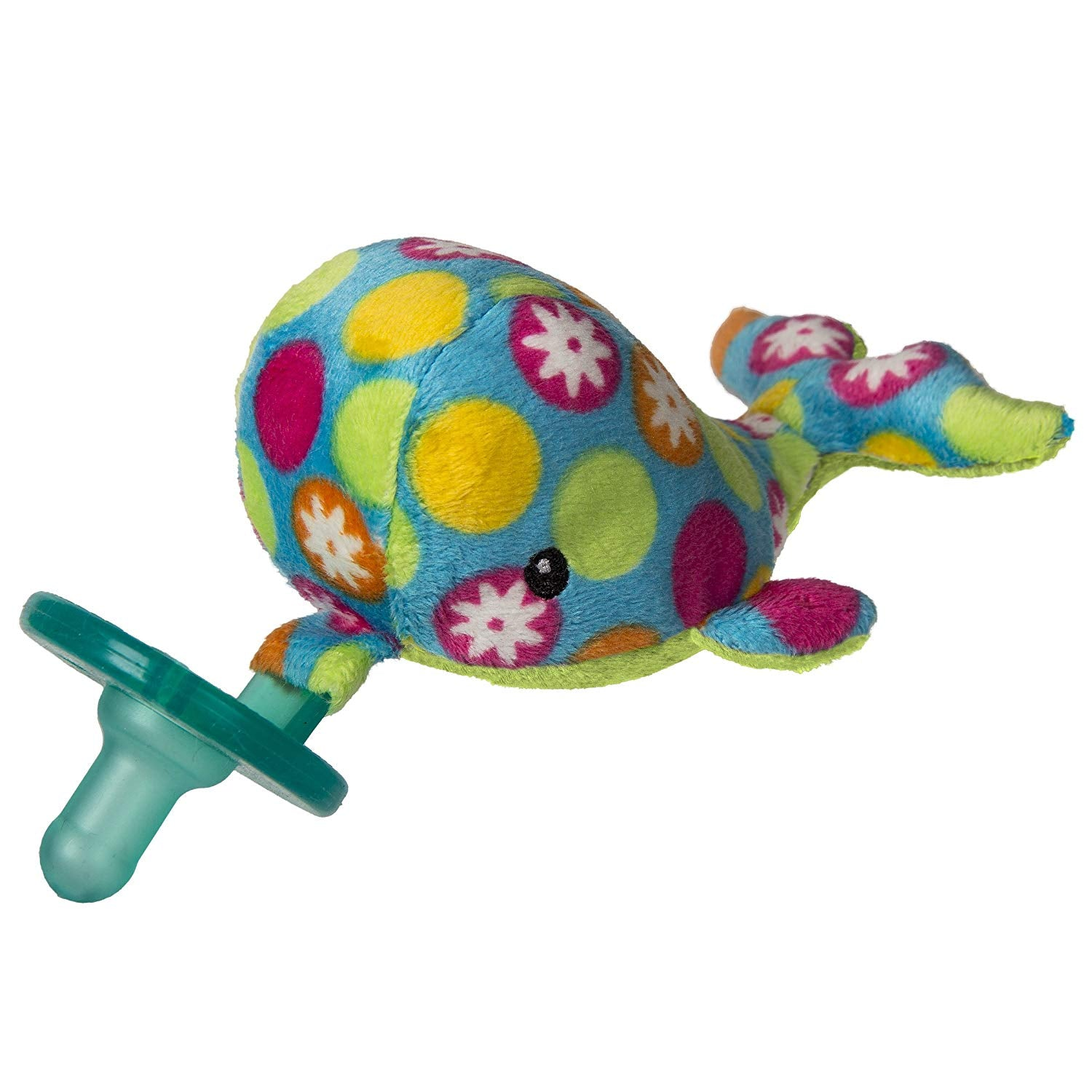 Wubbanub Soft Toy and Pacifier - Bubbly Whale