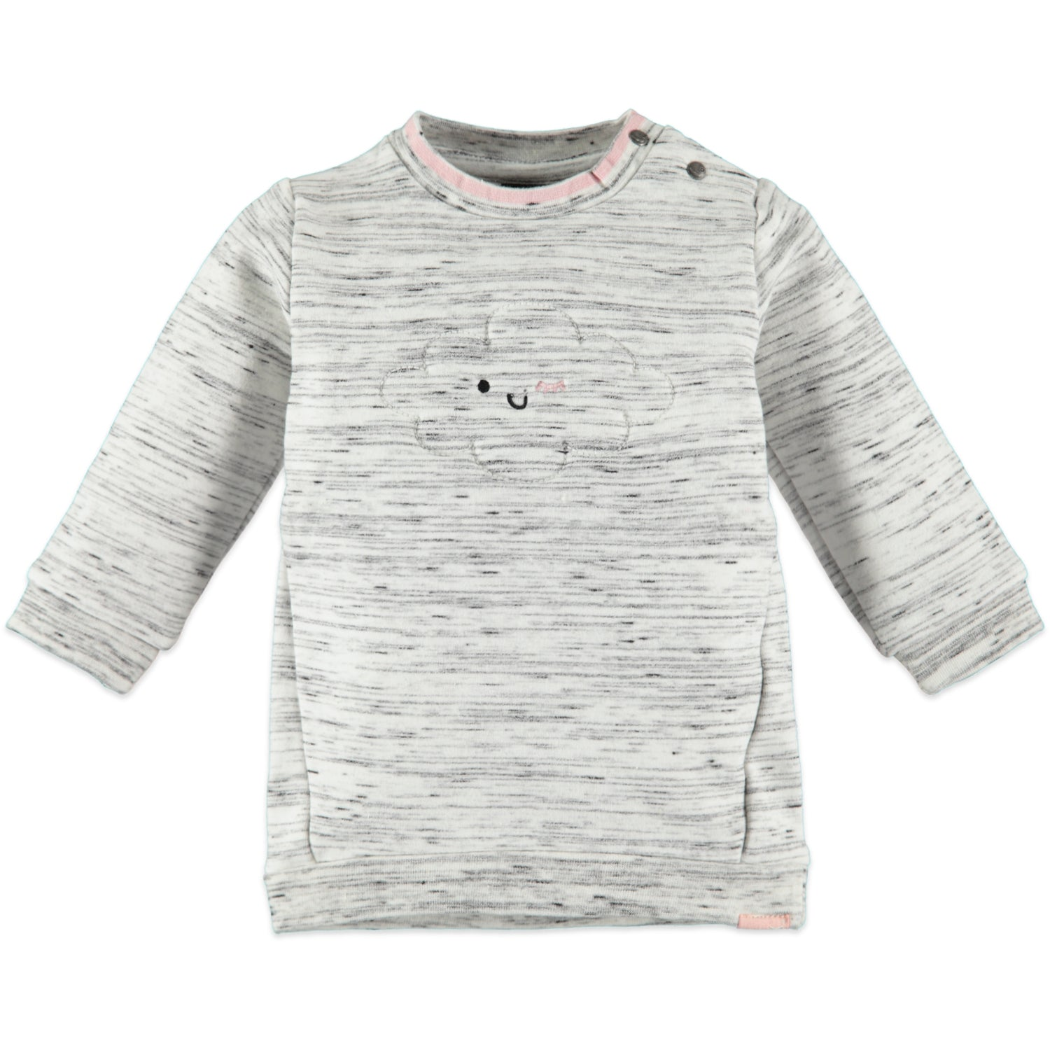 Babyface Sweatshirt Dress - Cloud