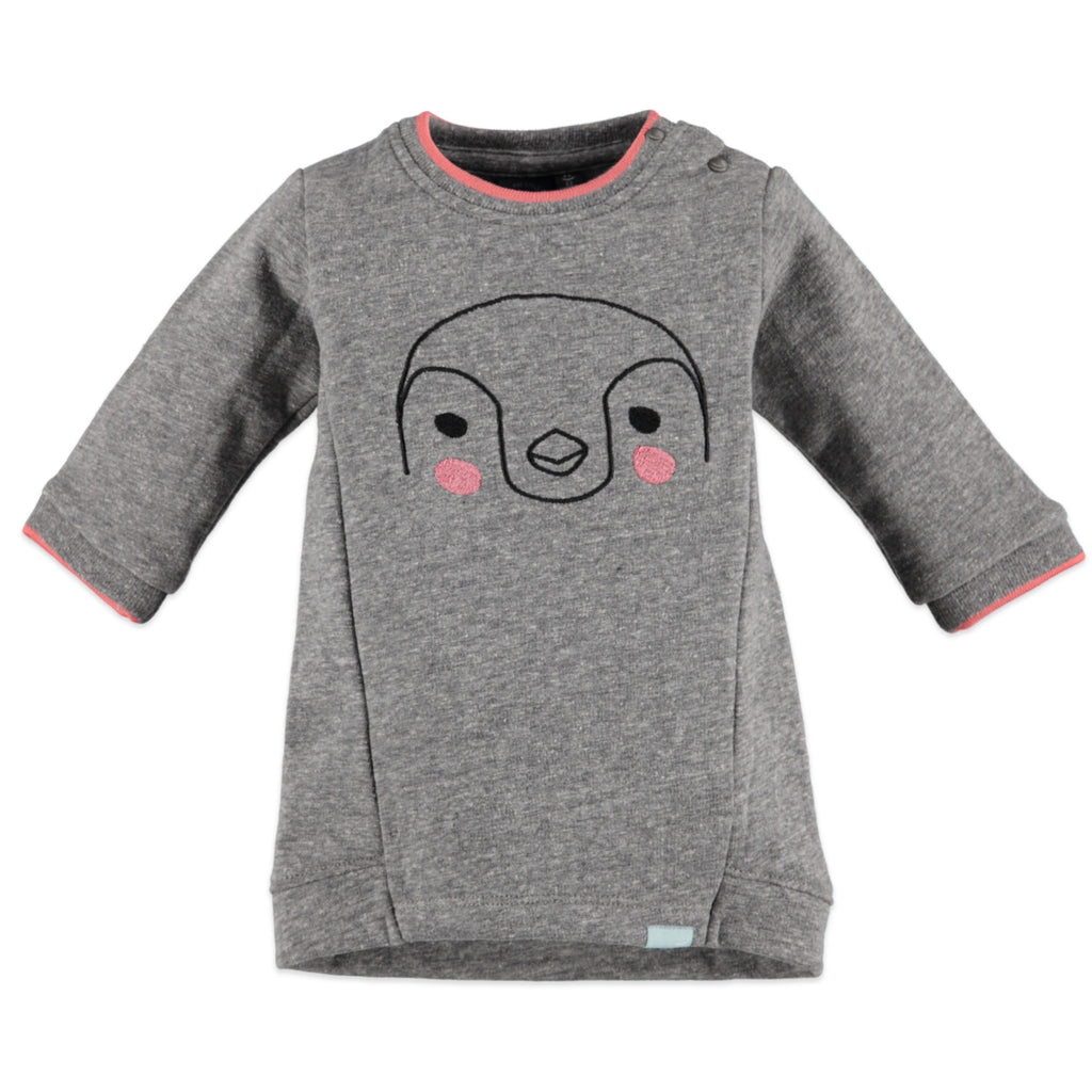 Babyface Sweatshirt Dress - Penguin