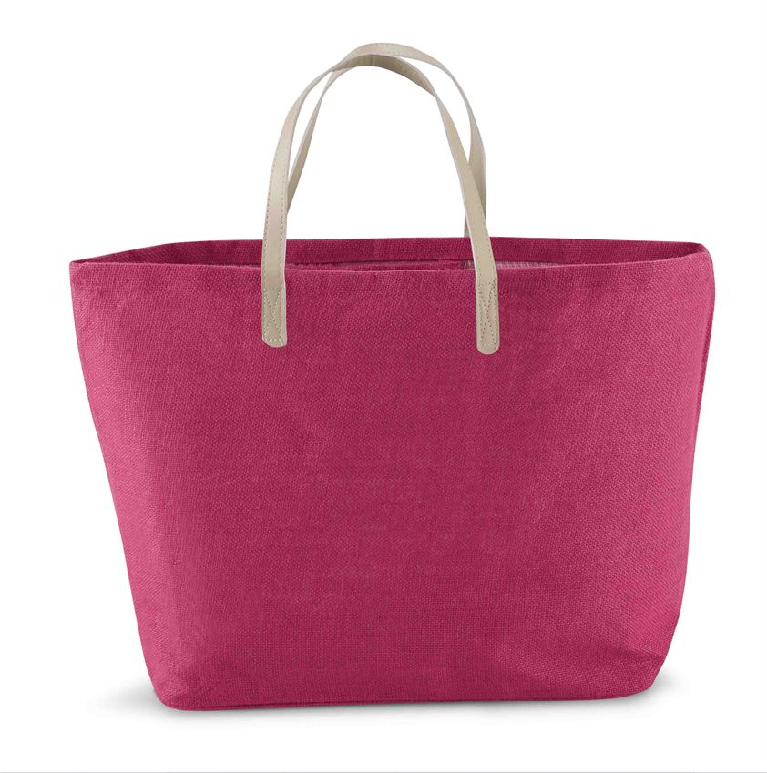 Mud Pie Solid Jute Tote