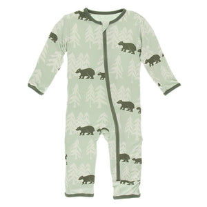 Kickee Pants - Zoology - Coverall with Zipper – Aloe Bears and Treeline