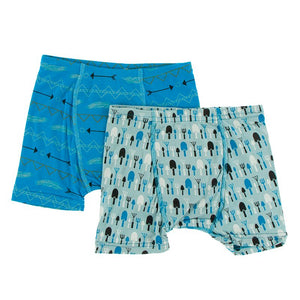 Kickee Pants - Agriculture Collection- Boxer Brief Set  – Amazon Southwest & Jade Garden Tools