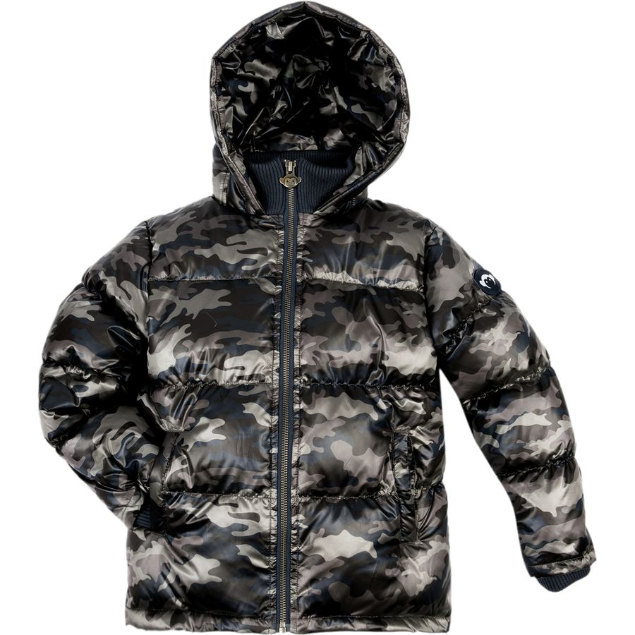 Appaman Boys' Puffy Coat - City Nights Camo