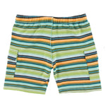 Kickee Pants - Cancun Collection - Cargo Short - Cancun Glass Stripe
