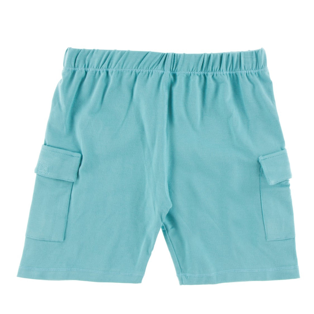 Kickee Pants - Cancun Collection - Cargo Short – Glacier