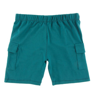 Kickee Pants - Cancun Collection - Cargo Short – Seagrass