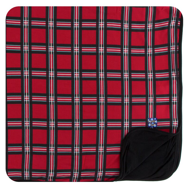 Kickee Pants - Winter Celebrations - Toddler Blanket - Christmas Plaid 2019