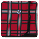 Kickee Pants - Winter Celebrations - Swaddling Blanket - Christmas Plaid 2019
