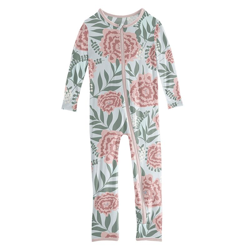 Kickee Pants - Sports and Active Careers Collection - Coverall with Zipper – Fresh Air Florist