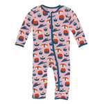 Kickee Pants - Fall 3 2018 - Coverall with Zipper – Lotus Sushi