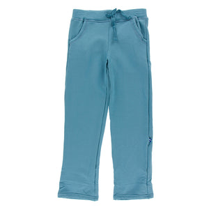 Kickee Pants - Oceanography Collection - Fleece Sweatpant - Blue Moon