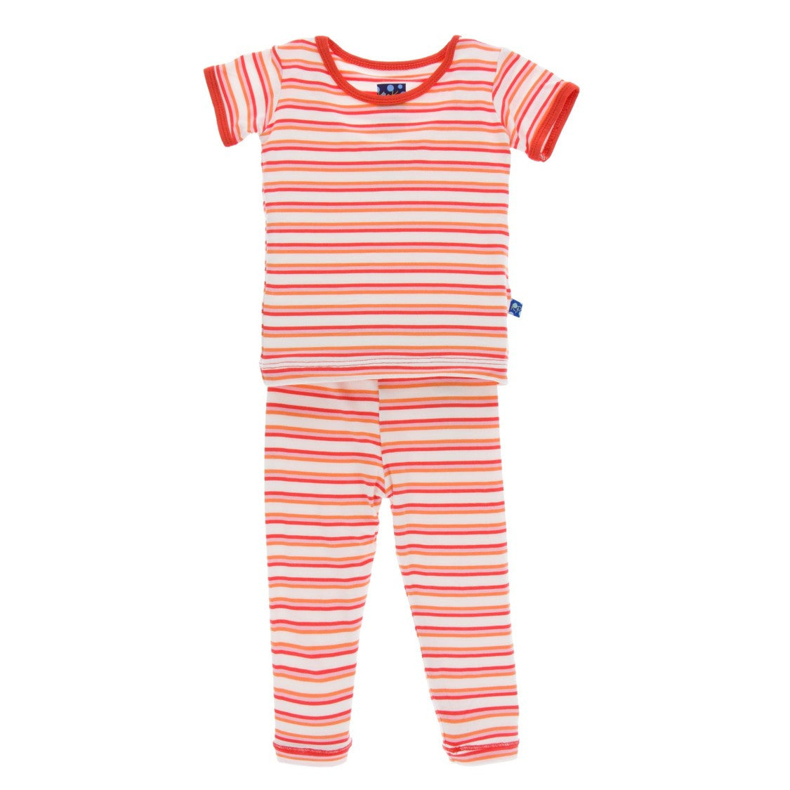 Kickee Pants - Spring 3 2017 - Girl Fresh Water Stripe Pajama Set
