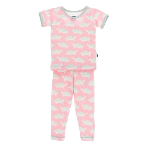 Kickee Pants - Spring 3 2017 - Lotus Turtle Pajama Set