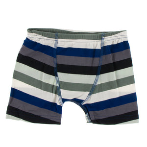 Kickee Pants - Zoology - Single Boxer Brief - Zoology Stripe