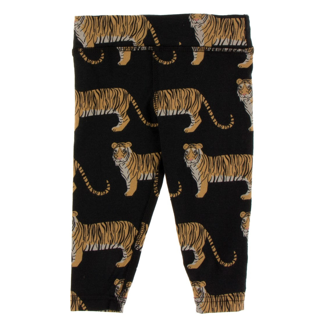 Kickee Pants - India Collection - Performance Jersey Legging – Zebra Tiger