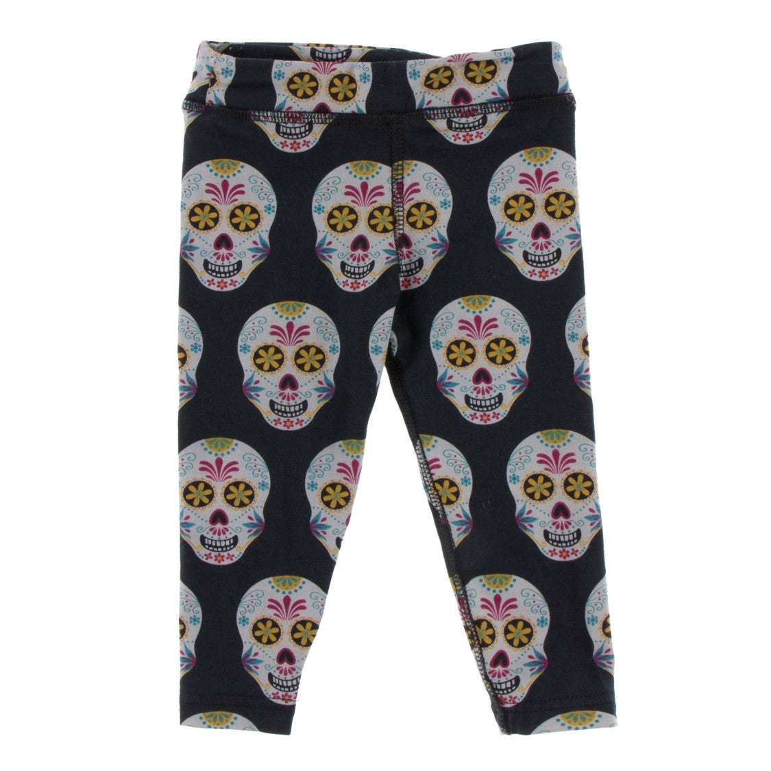 Kickee Pants - Cancun Collection - Performance Leggings – Dia De Los Muertos