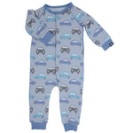 Sweet Bamboo - Piped Romper - Cars