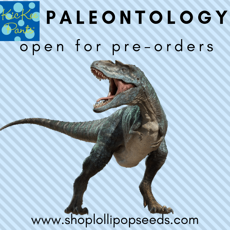 Kickee Pants - Paleontology Collection Footie
