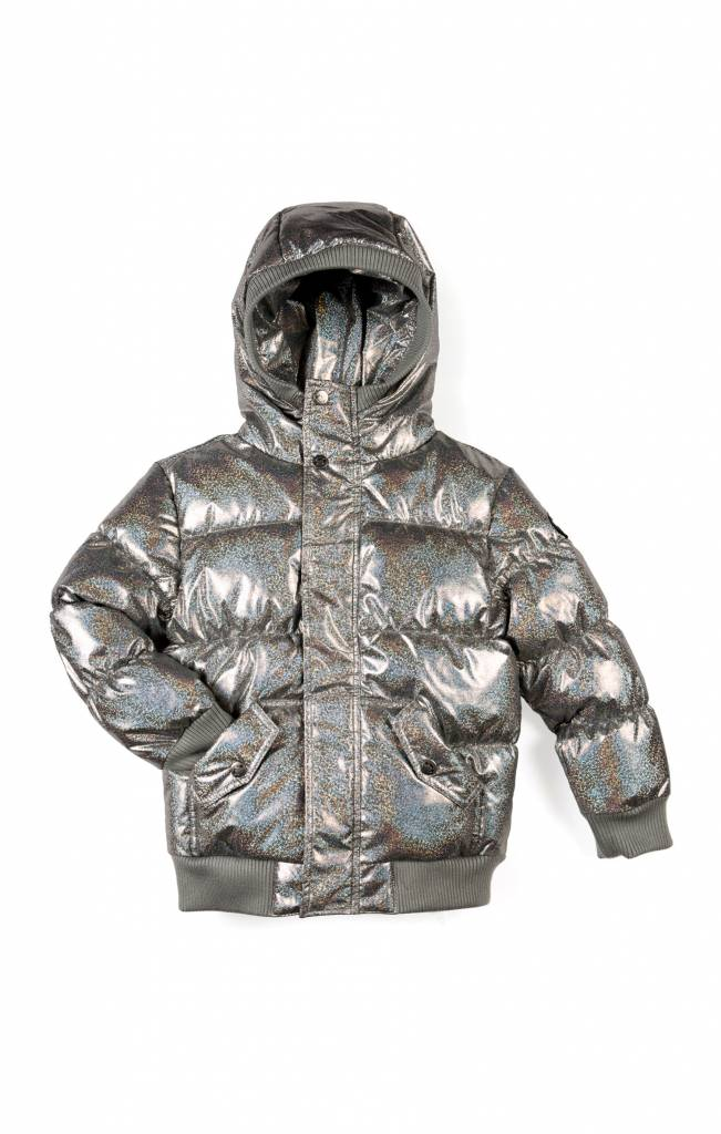 Appaman Girls' Puffy Coat - Hologram