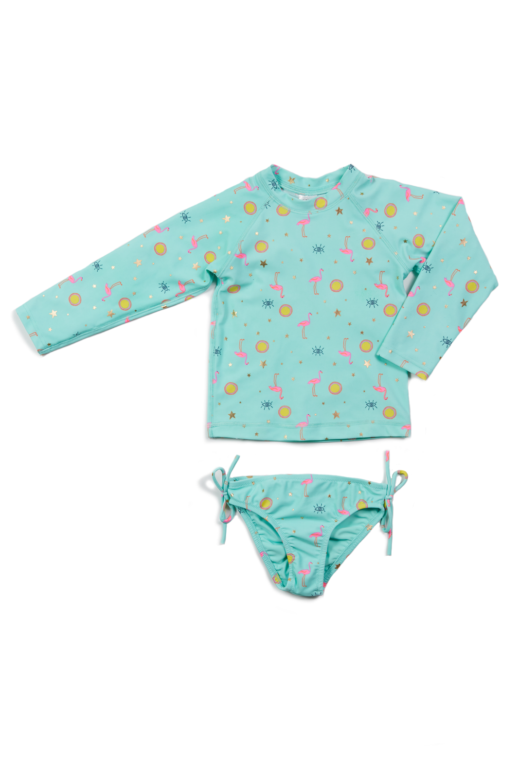 Egg By Susan Lazar - Kaitlyn Two Piece Swimsuit - Aqua