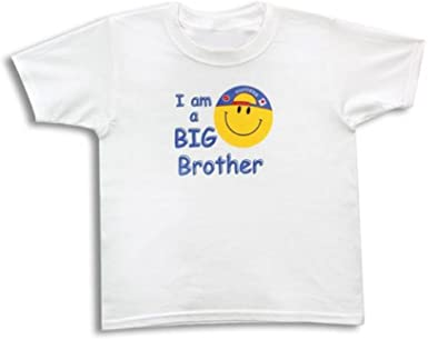 I Am A Big Brother Smiley Children's T-Shirt