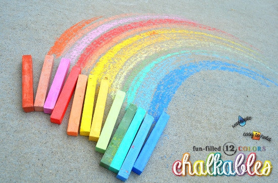 Chalkables Square Chalk, Set of 12