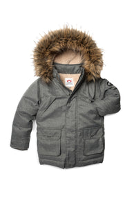 Appaman Denali Down Coat - Herringbone