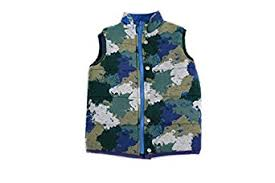 Egg by Susan Lazar Boys' Bailey Vest - Camouflage