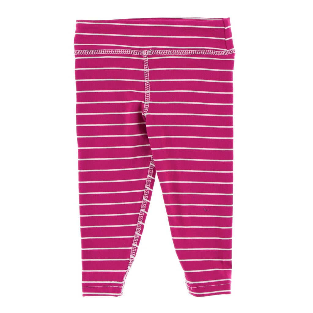 Copy of Kickee Pants - Fall 3 2018 - Performance Jersey Legging – Dragon Fruit Stripe
