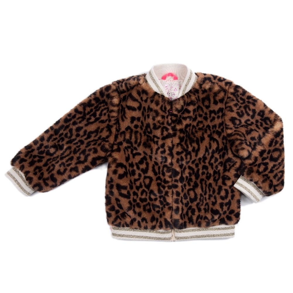 Egg By Susan Lazar  - Abby Jacket - Leopard