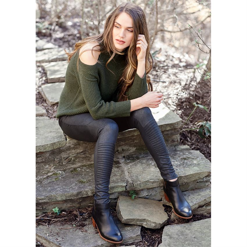 Mud Pie Finch Leather Leggings
