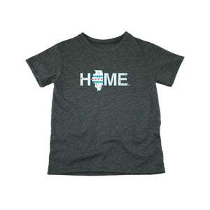 Illinois Home Tee - Chicago Flag