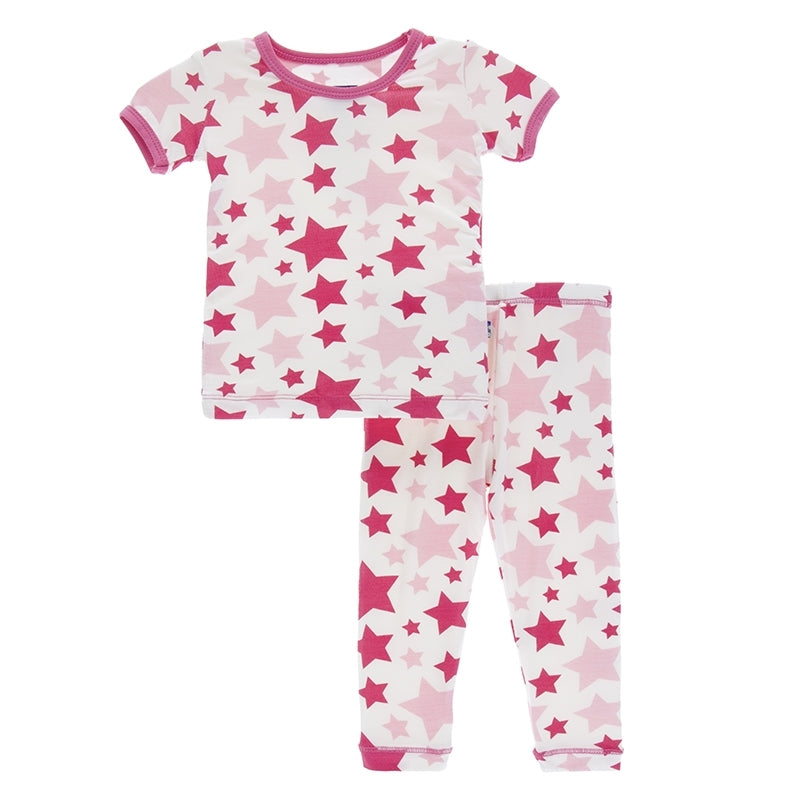 Kickee Pants - Spring 1 2018 - Pajama Set – Flamingo Star