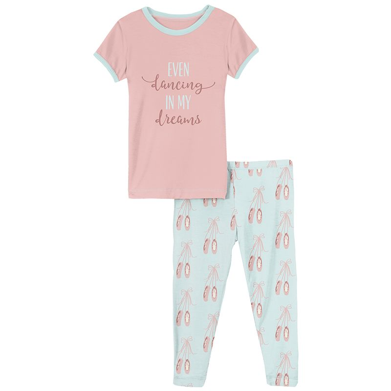 Kickee Pants - Sports and Active Careers Collection - Pajama Set - Fresh Air Ballet